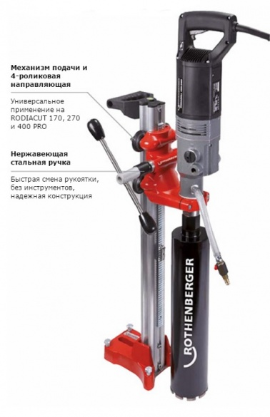 Установка алмазного бурения Rothenberger Rodiacut 130